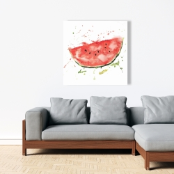 Canvas 36 x 36 - Watermelon slice