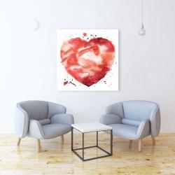 Canvas 36 x 36 - Big heart