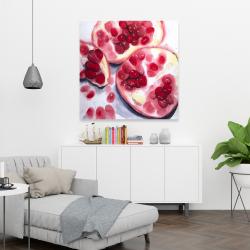 Canvas 36 x 36 - Pomegranate pieces
