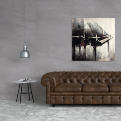 Canvas 36 x 36 - Industrial style piano