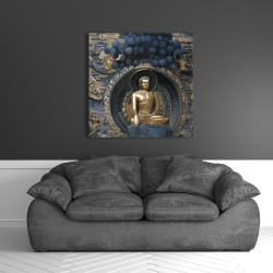 Canvas 36 x 36 - Grand buddha at lingshan scenic area in china