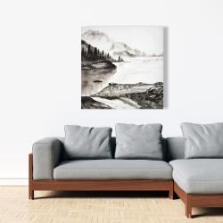 Canvas 36 x 36 - Peaceful landscape