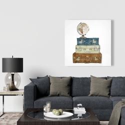 Canvas 36 x 36 - Go around the world