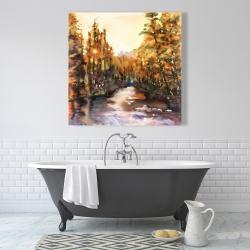 Canvas 36 x 36 - Merced river
