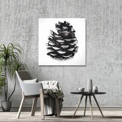 Canvas 36 x 36 - Pine cone