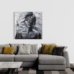 Canvas 36 x 36 - Gentle woman