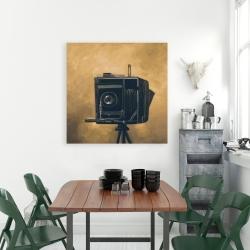 Canvas 36 x 36 - Vintage camera