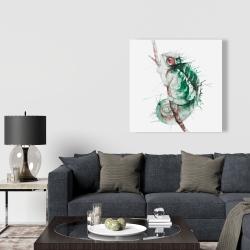 Canvas 36 x 36 - Watercolor chameleon