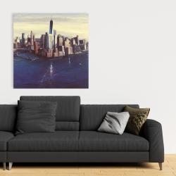 Canvas 36 x 36 - City of new-york vintage