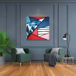 Canvas 36 x 36 - Diagonal unity