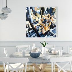 Canvas 36 x 36 - Manhattan view of the empire state building