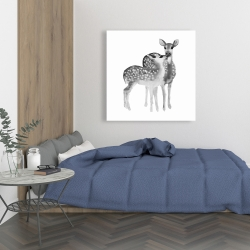 Canvas 36 x 36 - Fawns love