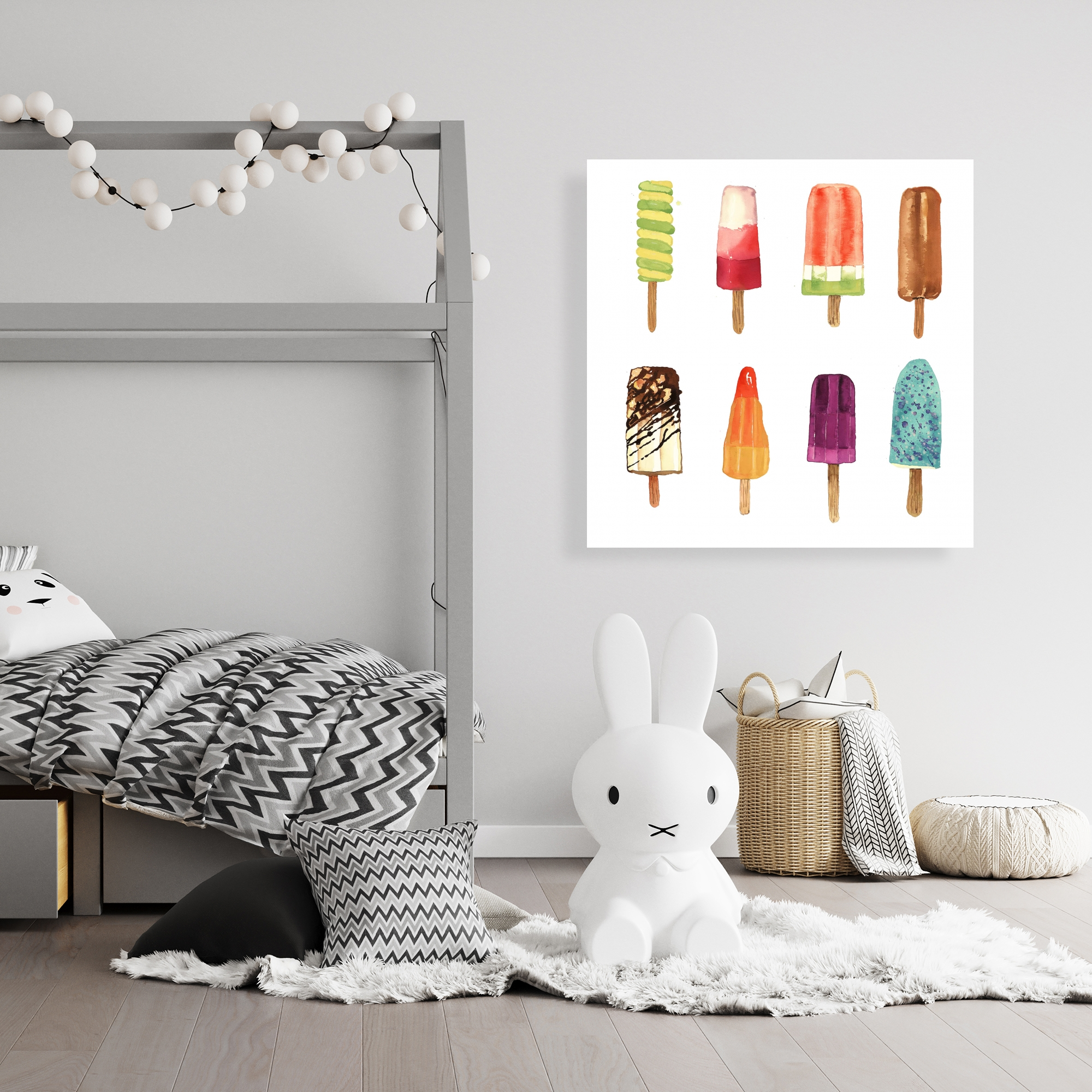 Canvas 36 x 36 - Iced lollipop