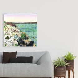 Canvas 36 x 36 - Landscape of crete