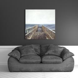 Canvas 36 x 36 - Relaxing beach