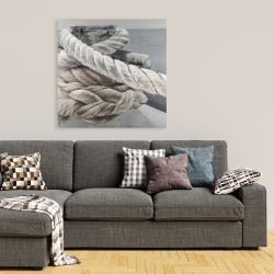 Canvas 36 x 36 - Twisted boat rope