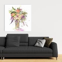 Canvas 36 x 36 - Romantic bouquet