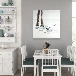 Canvas 36 x 36 - Seagull