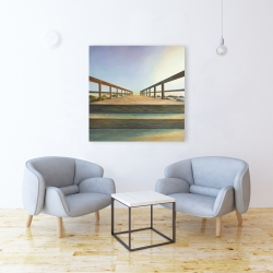 Canvas 36 x 36 - Footbridge