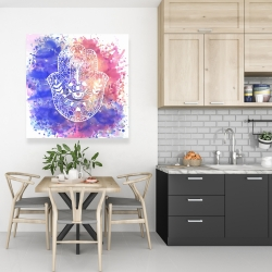 Canvas 36 x 36 - Hamsa hand