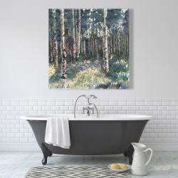 Canvas 36 x 36 - Birches