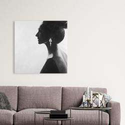 Canvas 36 x 36 - Chic woman