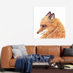 Canvas 36 x 36 - Fox