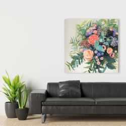 Canvas 36 x 36 - Flowers melody