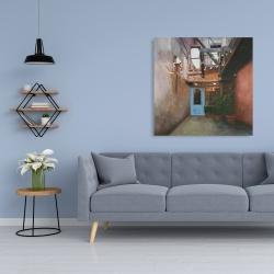 Canvas 36 x 36 - Cozy little place