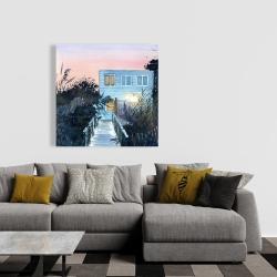 Canvas 36 x 36 - Beach house