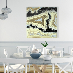 Canvas 36 x 36 - Lace agate