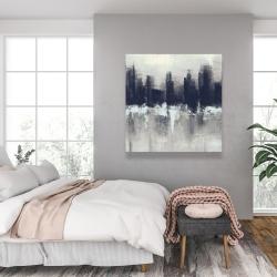 Canvas 36 x 36 - Dark city
