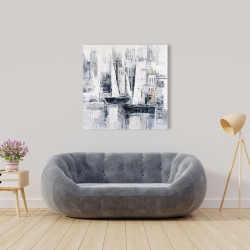 Canvas 36 x 36 - Industrial style sailboats