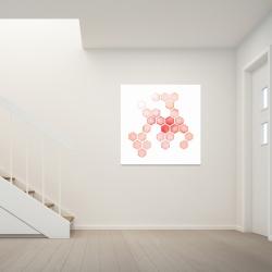 Canvas 36 x 36 - Multiple alveoles