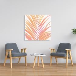 Canvas 36 x 36 - Glam palm leaf