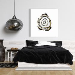 Canvas 36 x 36 - Golden agate