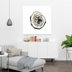 Canvas 36 x 36 - Golden geode