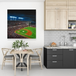 Canvas 36 x 36 - Baseball game