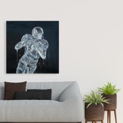 Canvas 36 x 36 - Football player