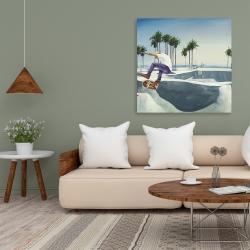 Canvas 36 x 36 - Skate park