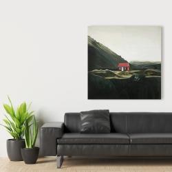 Canvas 36 x 36 - Isolated shack