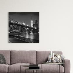 Canvas 36 x 36 - City under the night