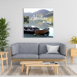 Canvas 36 x 36 - Adventure awaits