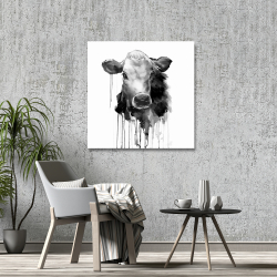 Canvas 36 x 36 - Jersey cow