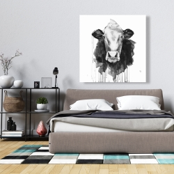 Canvas 36 x 36 - Cow