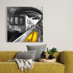 Toile 36 x 36 - Vie urbaine