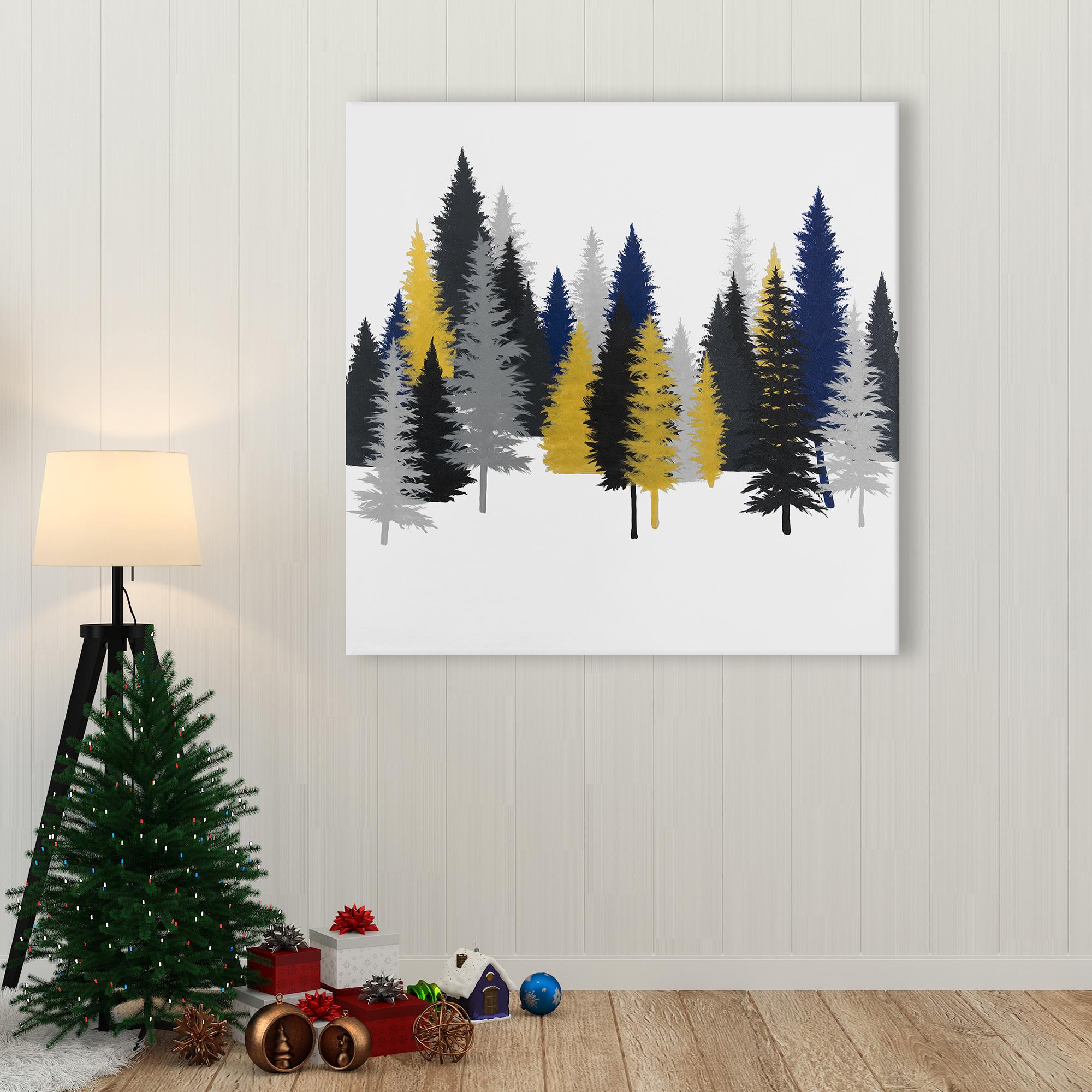 Canvas 36 x 36 - Golden fir
