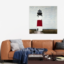 Canvas 36 x 36 - Sankaty head lighthouse