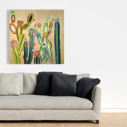 Canvas 36 x 36 - Desert gems