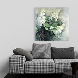 Canvas 36 x 36 - White lilacs
